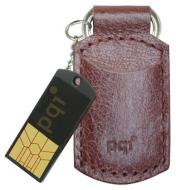 Флеш память USB 2.0 PQI 8 Гб Intelligent Drive (i820) CoffeLeathe