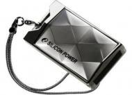 Флеш память USB 2.0 Silicon Power 16 Гб Touch 850 Titanium (SP016GBUF2850V1T)