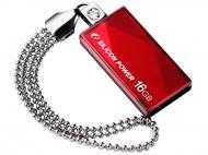 Флеш память USB 2.0 Silicon Power 16 Гб Touch 810 Red (SP016GBUF2810V1R)