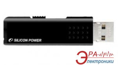 Флеш память USB 2.0 Silicon Power 16 Гб Touch 210 Black (SP016GBUF2210V1K)