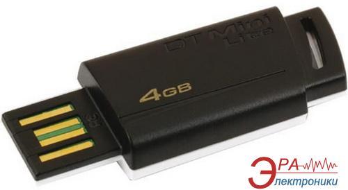 Флеш память USB 2.0 Kingston 4 Гб Data Traveler Mini Lite Black (DTML/4GB)