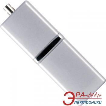 Флеш память USB 2.0 Silicon Power 4 Гб LuxMini 710 Silver (SP004GBUF2710V1S)