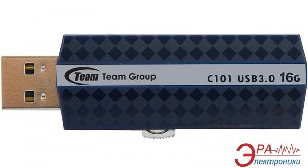 Флеш память USB 3.0 Team 16 Гб C101 Silver (TG016GC101S3)