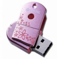 Флеш память USB Pretec 4 Гб Wave Sakura (W2U04G-S)