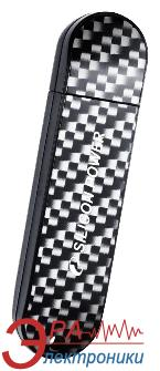Флеш память USB Silicon Power 8 Гб LuxMini 920 200X Carbon (SP008GBUF2920V1X)