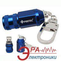 Флеш память USB 2.0 Pretec 8 Гб Racing Nut Blue (RAN08G-BG)