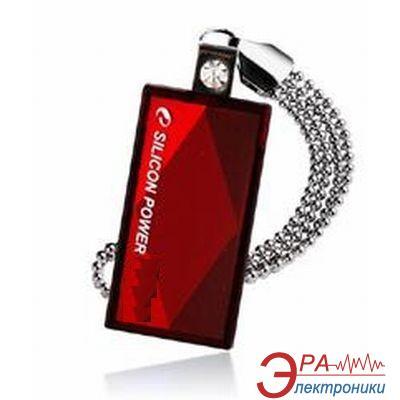 Флеш память USB 2.0 Silicon Power 8 Гб Touch 810 Red (SP008GBUF2810V1R)