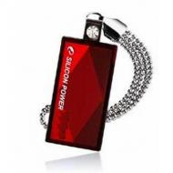 Флеш память USB 2.0 Silicon Power 8 Гб Touch 810 Red (SP008GBUF2810V1R)
