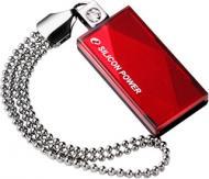 Флеш память USB 2.0 Silicon Power 32 Гб Touch 810 Red (SP032GBUF2810V1R)