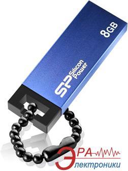 Флеш память USB 2.0 Silicon Power 8 Гб Touch 835 Blue (SP008GBUF2835V1B)