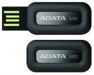Флеш память USB 2.0 A-Data 16 Гб S101 Black (S101-16G-RBK)