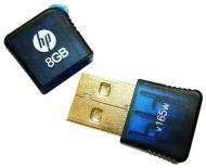 Флеш память USB 2.0 HP 8 Гб V165W Micro Blue (FDU8GBHPV165W-EF)