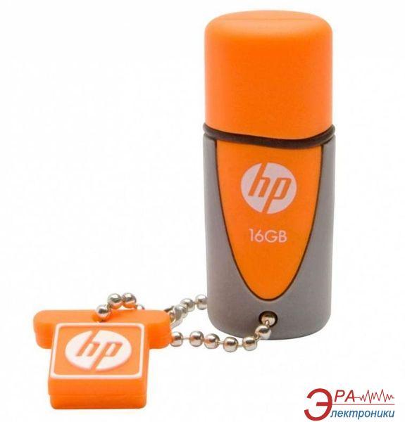 Флеш память USB 2.0 HP 16 Гб V245O Orange Barrel (FDU16GBHPV245O-EF)