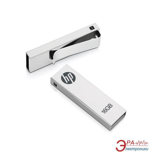 Флеш память USB 2.0 HP 16 Гб V210W ClipDrive Metal Silver (MEM-HP-FLD-16GB-210) (FDU16GBHPV210W-EF)