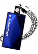 Флеш память USB 2.0 Silicon Power 32 Гб Touch 810 Blue (SP032GBUF2810V1B)