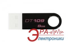 Флеш память USB 2.0 Kingston 8 Гб DT109 Black (DT109K/8GB)