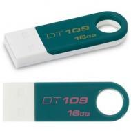 Флеш память USB 2.0 Kingston 16 Гб DT109 Teal (DT109T/16GB)