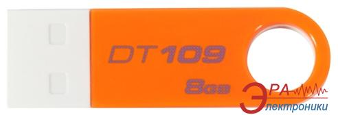 Флеш память USB 2.0 Kingston 8 Гб DT109 Orange (DT109O/8GB)
