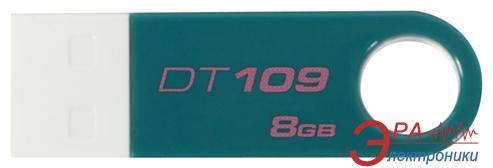 Флеш память USB 2.0 Kingston 8 Гб DT109 Teal (DT109T/8GB)