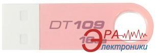 Флеш память USB 2.0 Kingston 16 Гб DT109 Pink (DT109N/16GB)
