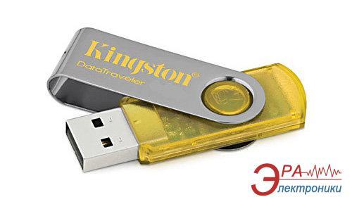 Флеш память USB Kingston 4 Гб DT101 желтый (DT101Y/4GB)