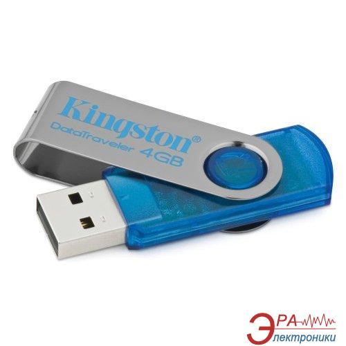 Флеш память USB 2.0 Kingston 4 Гб DataTraveler 101 Синий (DT101C/4GB)