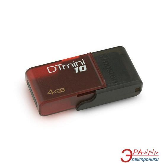 Флеш память USB Kingston 4 Гб DTmini10 (DTM10/4GB)