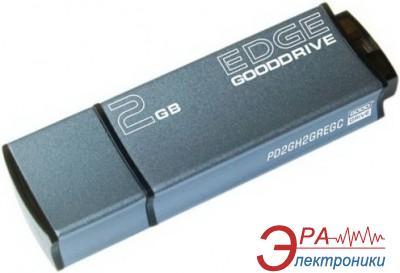 Флеш память USB 2.0 Goodram 2 Гб EDGE Blue bulk