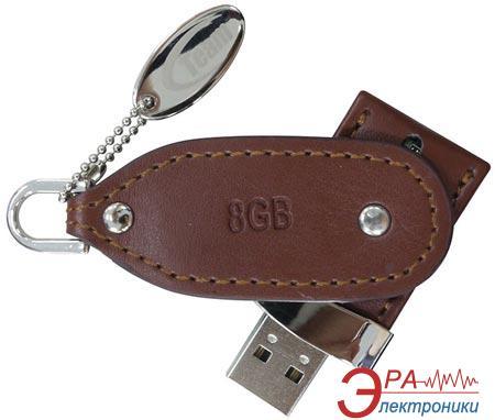 Флеш память USB 2.0 Team 8 Гб TL01 Brown