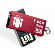 Флеш память USB 2.0 Goodram 16 Гб Cube Valentine Red (PD16GH2GRCURR9+V)