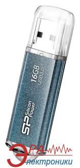 Флеш память USB 3.0 Silicon Power 16 Гб Marvel M01 blue (SP016GBUF3M01V1B)