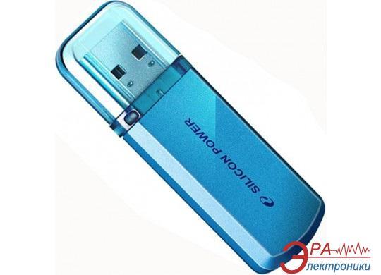 Флеш память USB 2.0 Silicon Power 32 Гб Helios 101 Blue (SP032GBUF2101V1B)