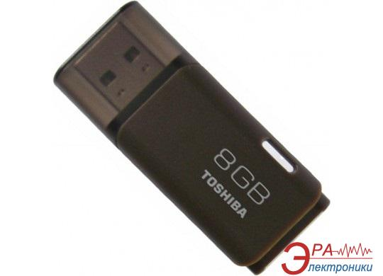 Флеш память USB 2.0 Toshiba 8 Гб Hayabusa Brown (THNU08HAYBROWN)