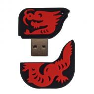 Флеш память USB 2.0 Patriot 16 Гб RED DRAGON (PSF16GDRUSB)