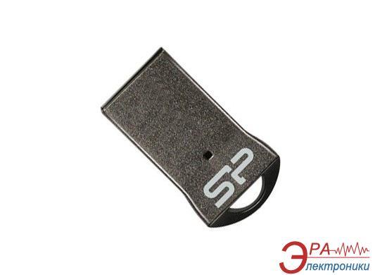 Флеш память USB 2.0 Silicon Power 8 Гб Touch T01 Black (SP008GBUF2T01V1K)