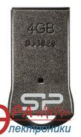 Флеш память USB 2.0 Silicon Power 4 Гб Touch T01 Black (SP004GBUF2T01V1K)