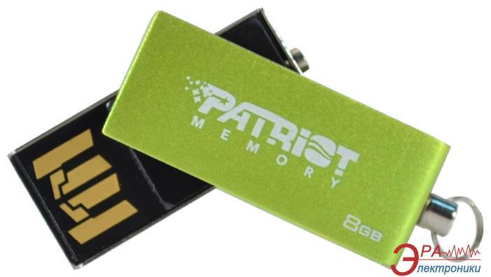 Флеш память USB 2.0 Patriot 8 Гб SWING Green (PSF8GSGUSB)