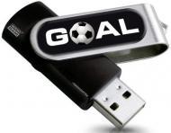 Флеш память USB 2.0 Goodram 16 Гб Twister Goal (PD16GH2GRTSKR9+GOAL)