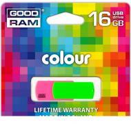 Флеш память USB 2.0 Goodram 16 Гб Colour (PD16GH2GRCOMXR9)