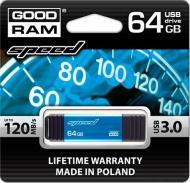 Флеш память USB 3.0 Goodram 64 Гб Speed (PD64GH3GRSPBR9)