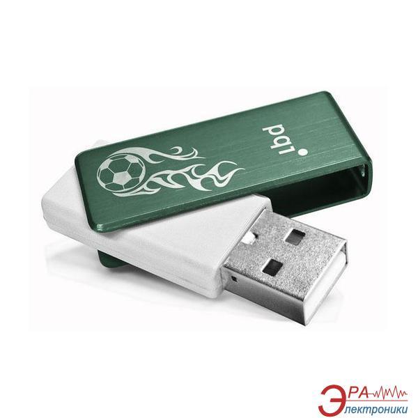 Флеш память USB 2.0 PQI 8 Гб U262 Green+White (6262-008GR5005)