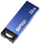 Флеш память USB 2.0 Silicon Power 32 Гб Touch 835 Blue (SP032GBUF2835V1B)