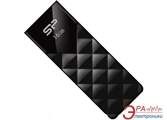Флеш память USB 2.0 Silicon Power 16 Гб Ultima U03 Black (SP016GBUF2U03V1K)