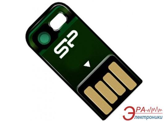 Флеш память USB 2.0 Silicon Power 16 Гб Touch T02 Green (SP016GBUF2T02V1N)
