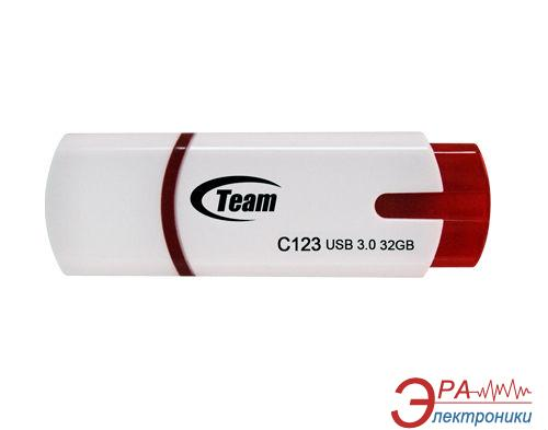 Флеш память USB 3.0 Team 32 Гб C123 White (TG032GC123W3)