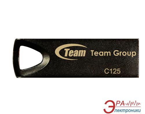 Флеш память USB 2.0 Team 16 Гб C125 Black (TC12516GB01)