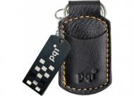 ���� ������ USB 2.0 PQI 16 �� I-Stick i820 Leather KeyChain Black (6820-016GR1012/6820-016GR1017)