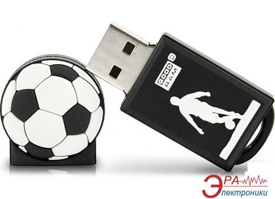 Флеш память USB 2.0 Goodram 16 Гб SPORT Football Black (PD16GH2GRFBR9+U)