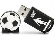 Флеш память USB 2.0 Goodram 16 Гб SPORT Football Black (PD16GH2GRFBR9+U)