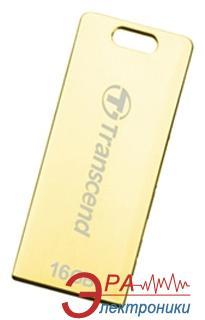 Флеш память USB 2.0 Transcend 16 Гб JetFlash T3G Golden (TS16GJFT3G)